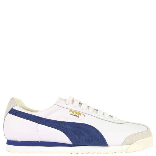 sneakers for cheap f3fba 1c027 coupon for uk trainers puma roma white blue 5a464 1d620