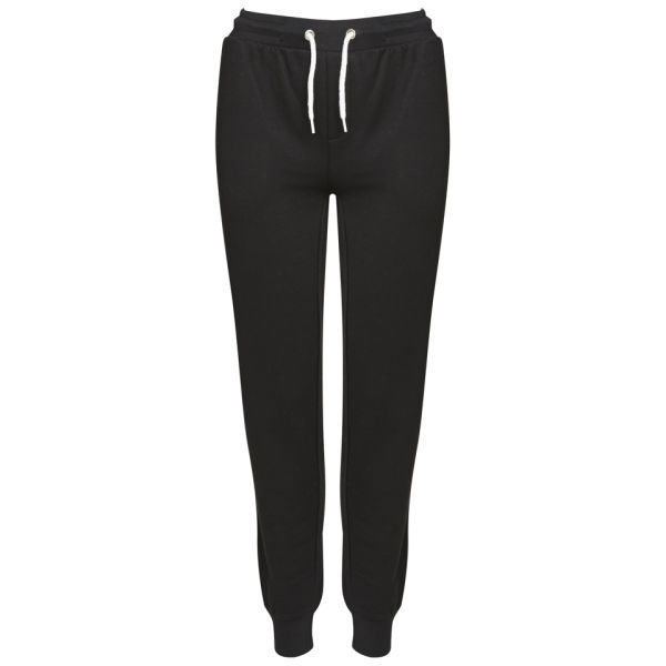 comfortable joggers for women Adapt the latest sporty women's joggers to your formal styles for a relaxed and fashionable look. From comfortable pieces with side stripes and elastic finishes to more elegant designs with applique details; choose the pair for you in this season's key colours.