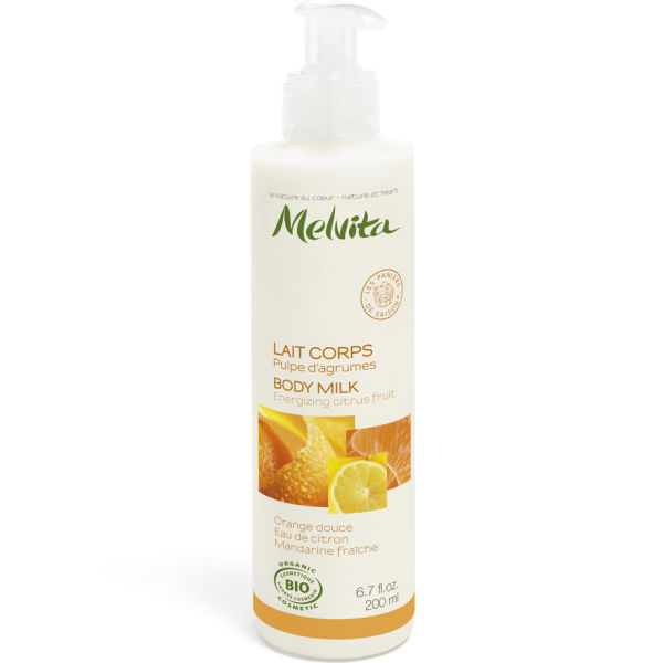 Body milk cítricos Melvita 200ml