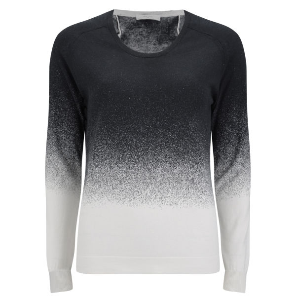 Paul by Paul Smith Women's Dip Dye Knitted Jumper - Black
