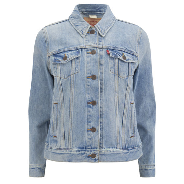 Levi's Women's Boyfriend Trucker Denim Jacket - Blue Cliff