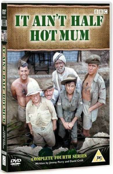 It Ain T Half Hot Mum Series 4 Dvd Zavvi Com