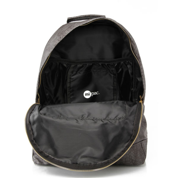 09569f1de26 Mi-Pac Gold Python Backpack - Grey: Image 2