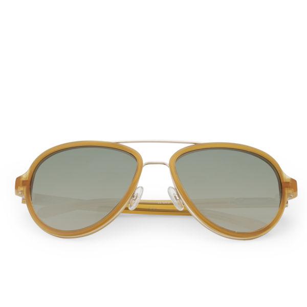 3.1 Phillip Lim Aviator Sunglasses - Toffee