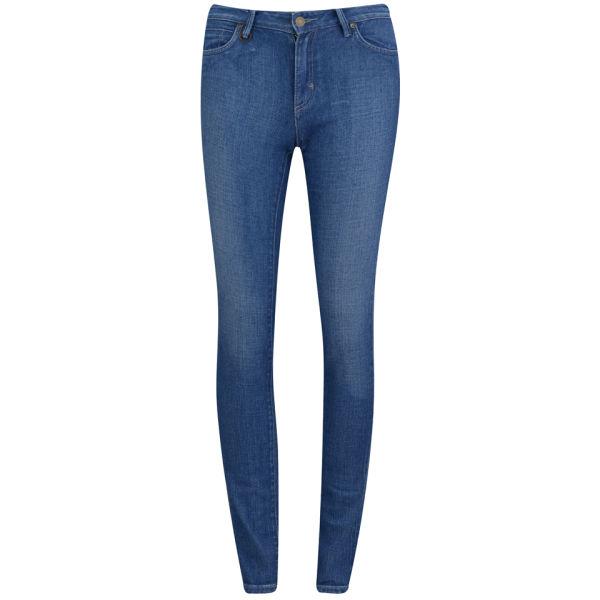 NEUW Women's Razor Mid Rise Skinny Jeans - Left Hand Stone