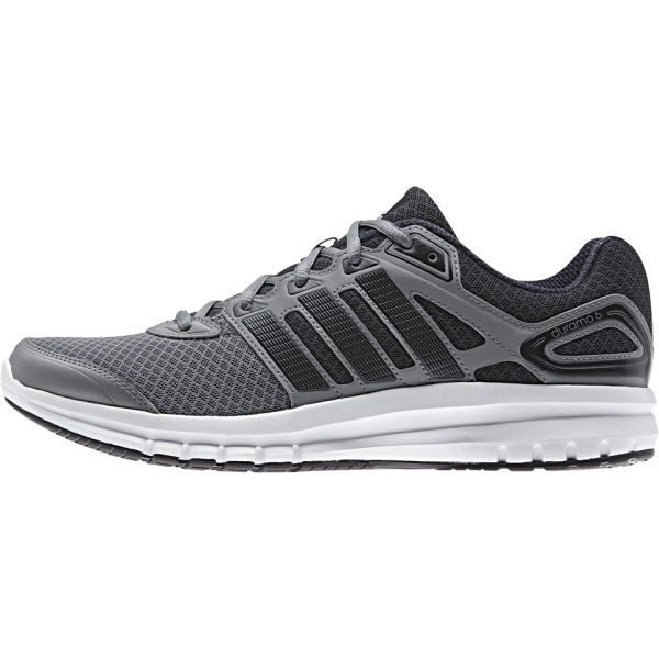 adidas Men's Duramo 6 Running Shoes - Grey/Black: Image 1
