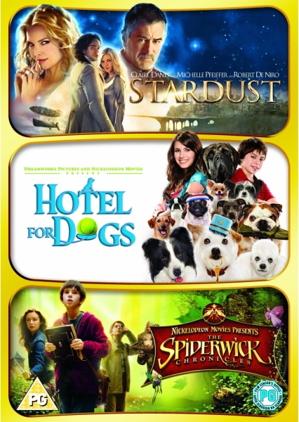 Stardust / Hotel for Dogs / The Spiderwick Chronicles