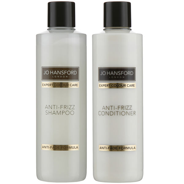 Jo Hansford Expert Colour Care Anti Frizz Shampoo and Conditioner (250ml)