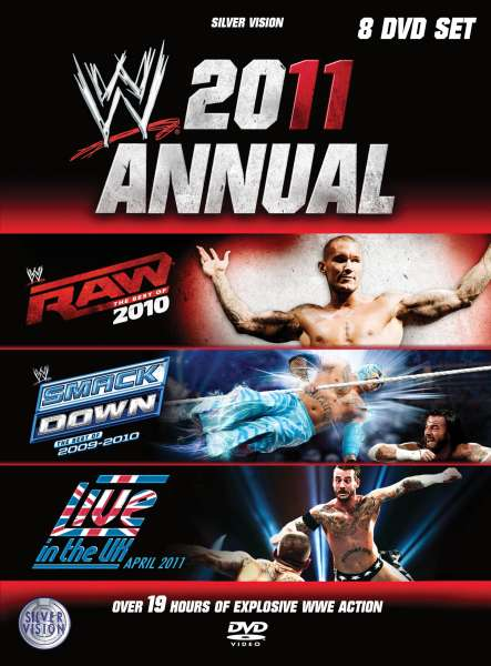 Wwe 2011 Annual Best Of Raw Best Of Smackdown Live In The Uk Dvd Zavvi
