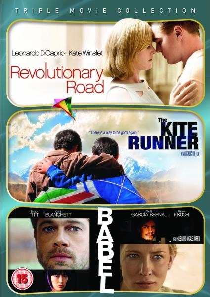 Drama Triple - Revolutionary Road / The Kite Runner / Babel