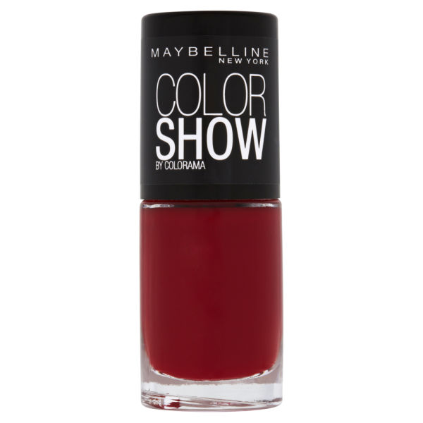 Maybelline New York Color Show Nail Lacquer - 352 Downtown Red 7ml ...