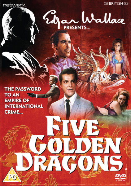 Edgar Wallace present: Five Golden Dragons