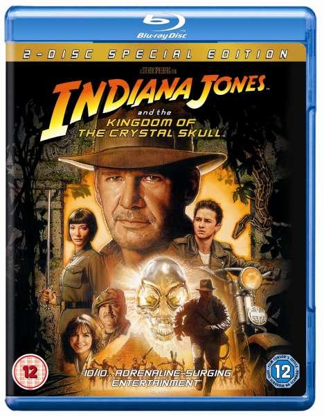 Indiana Jones And The Kingdom Of The Crystal Skull Blu Ray