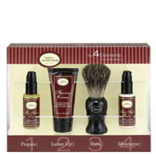 The Art Of Shaving 4 Elements Of The Perfect Shave Starter Kit - Sandalwood (4 Products)