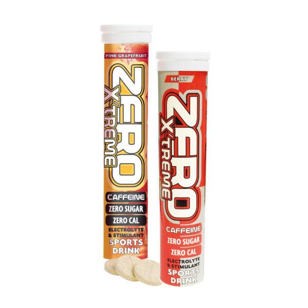 High5 Sports Zero Xtreme Caffeine Hydration Tablets - Tube of 20