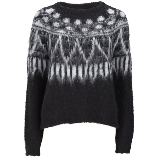 Samsoe & Samsoe Women's Jane O-Neck Knitted Jumper - Black