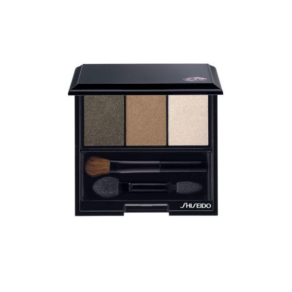 Trío de sombras de ojos Shiseido Luminizing Satin Eye Colour Trio (3g) BR307 Strata