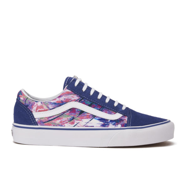 cbcc208e17 Vans Women s Old Skool Multi Paint Trainers - Purple  Image 1