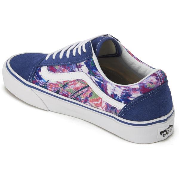 vans old skool trainers in lilac