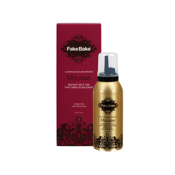 Fake Bake Luxurious Golden Bronze Sofortbräunungsmousse (118ml)
