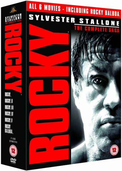 Rocky Red Tag Box Set Dvd Zavvi