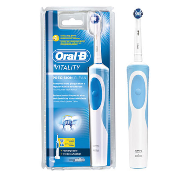 oral b vitality precision clean electric toothbrush free shipping lookfantastic. Black Bedroom Furniture Sets. Home Design Ideas