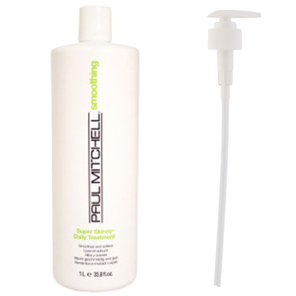 Paul Mitchell Super Skinny Daily Treatment with Pump (Worth £49)