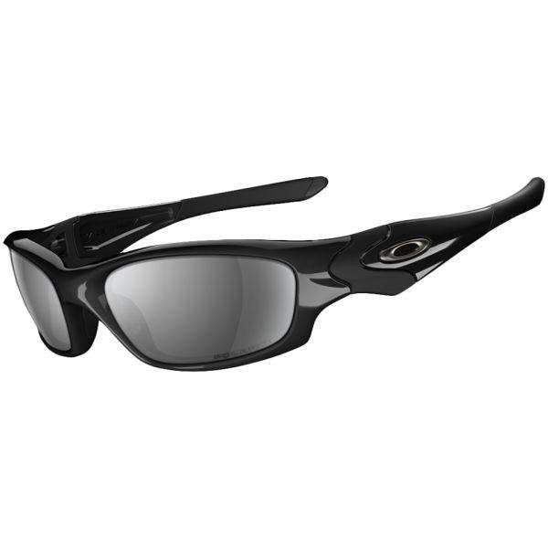 6cfa95b13c Oakley Men s Straight Jacket Polished Iridium Polarized Sunglasses - Black