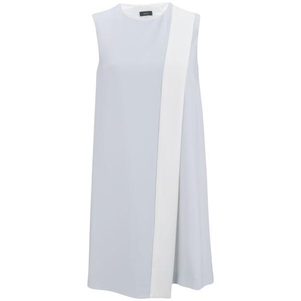Joseph Women's Sol Crepe Dress - Silver/White