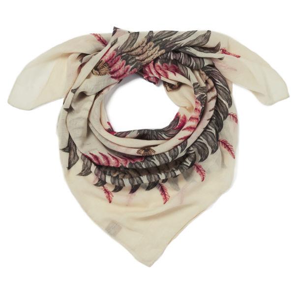 Alva Norge Women's Fauna Wool/Cashmere Scarf - Cream