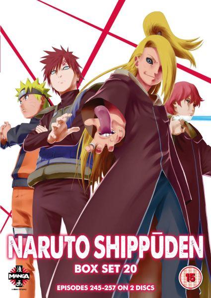 Naruto Shippuden Box Set 20