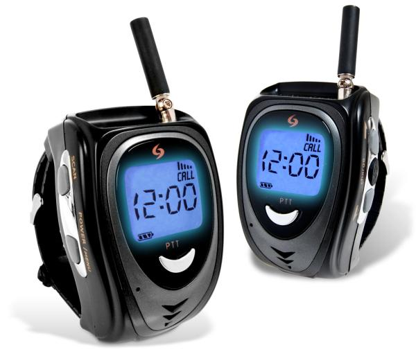 set of 2 walkie talkie watches iwoot. Black Bedroom Furniture Sets. Home Design Ideas