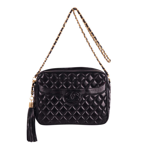 29bebebc9773 Chanel Vintage Classic Quilted Shoulder Bag: Image 1