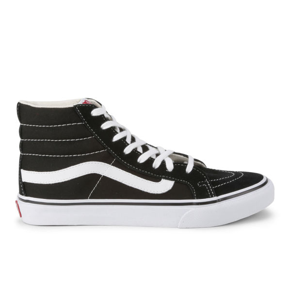 Vans Women's Sk8-Hi Slim Trainers - Black/True White
