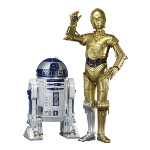 Kotobukiya Star Wars C3 Po Amp R2 D2 Artfx Twin Pack