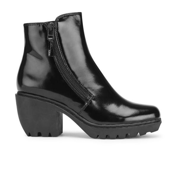 Opening Ceremony Women's Grunge Double Zip Boots - Black