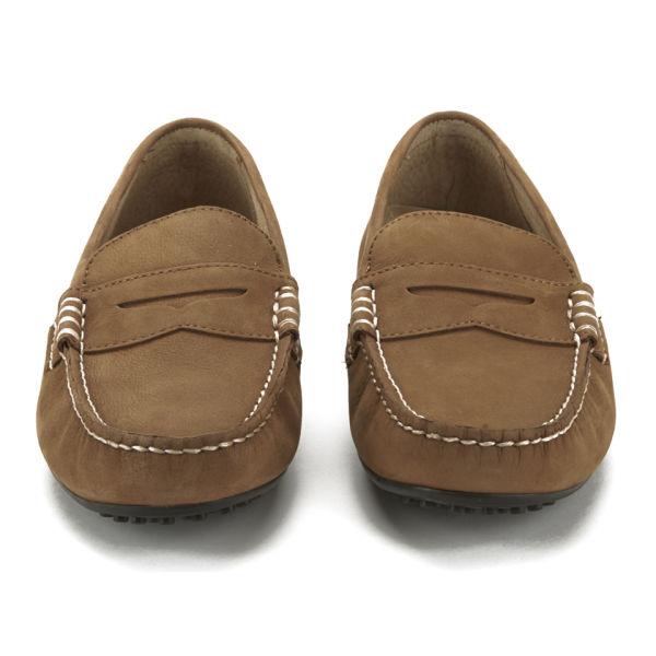 da014b4d62c Polo Ralph Lauren Men s Wes Suede Driver Shoes - Polo Tan  Image 4