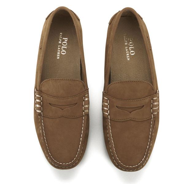 1f14d7d2753 Polo Ralph Lauren Men s Wes Suede Driver Shoes - Polo Tan  Image 2