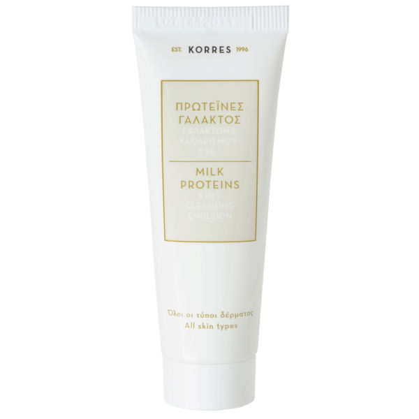 KORRES Milk Proteins 3 in 1 Cleansing Emulsion (16 ml)