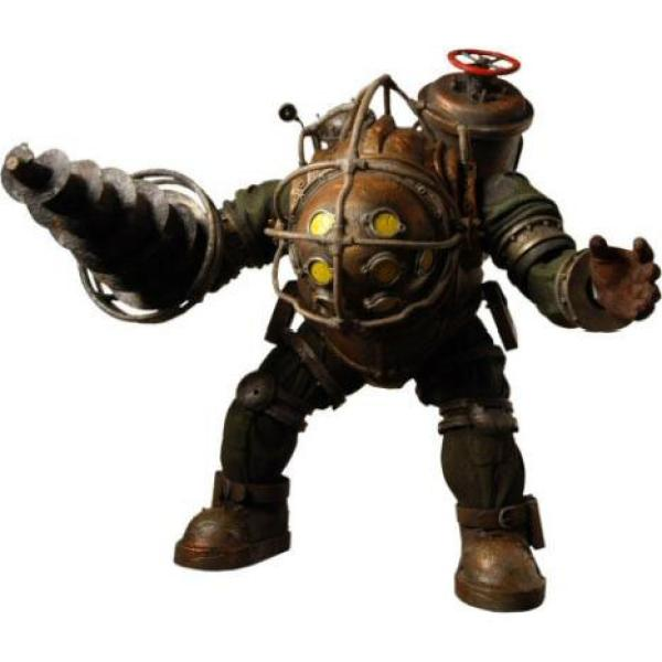 Bioshock Big Daddy Ultra Deluxe Action Figure Gifts Zavvi