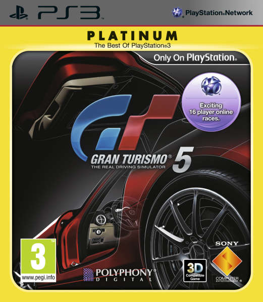 gran turismo 5 platinum ps3 zavvi. Black Bedroom Furniture Sets. Home Design Ideas