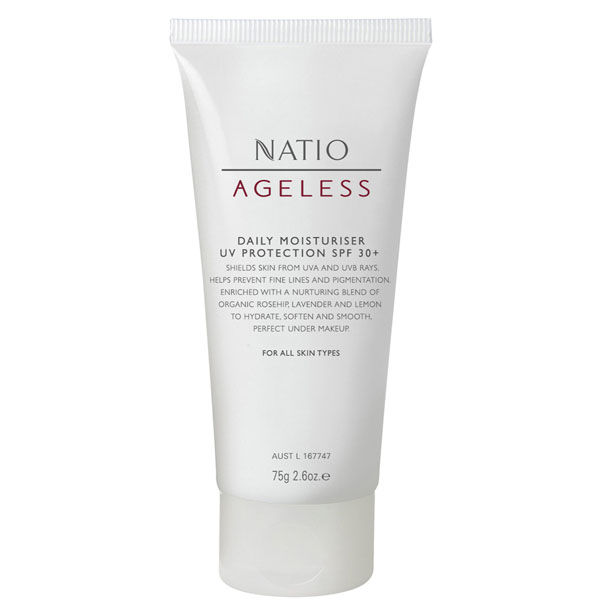 Natio Daily Moisturiser Uv Protection SPF 30+ (75g)
