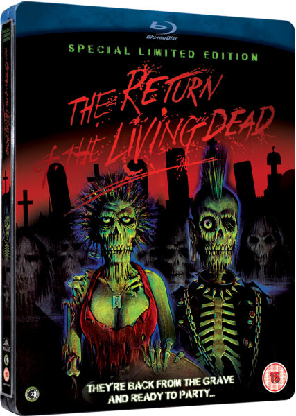 The Return Of The Living Dead Limited Edition Steelbook