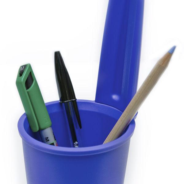 Pen Lid Shaped Pen Holder Blue Iwoot