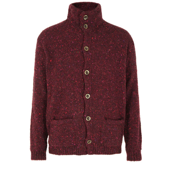 Howlin' by Morrison Men's Sly Cardigan - Wine
