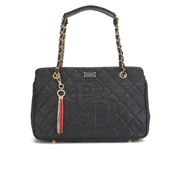 Paul S Boutique Holly Quilted Shoulder Bag Black Image 1