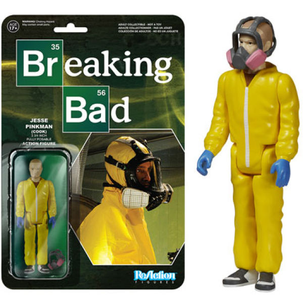 ReAction Breaking Bad Jesse Pinkman Cook 3 3/4 Inch Action Figure