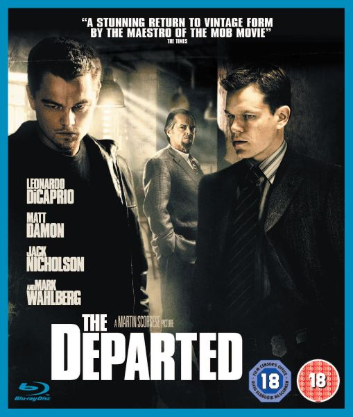 The Departed Martin Scorsese: The Departed Blu-ray