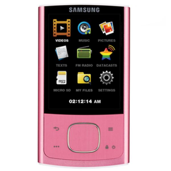 samsung r0 16gb mp3 player pink samr0pi16g electronics. Black Bedroom Furniture Sets. Home Design Ideas