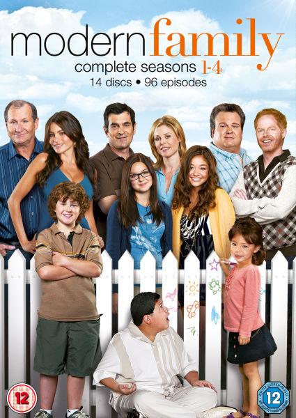 Modern Family - Seasons 1-4